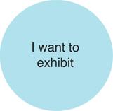I want to exhibit