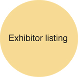 Exhibitor listing